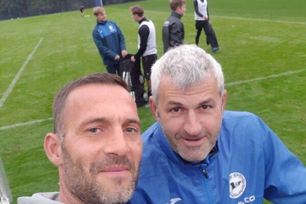 Miroslav Kopčan (vľavo) s Petrom Némethom.