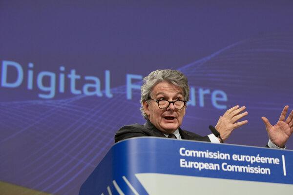 Thierry Breton, eurokomisár pre vnútorný trh.