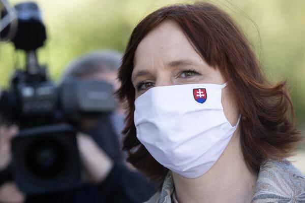 Podpredsedníčka vlády pre investície a informatizáciu Veronika Remišová (Za ľudí).
