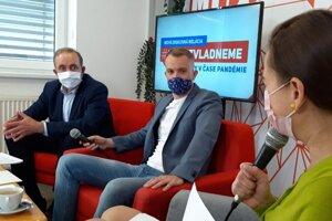 Zľava Milan Gura a Martin Kapitulík