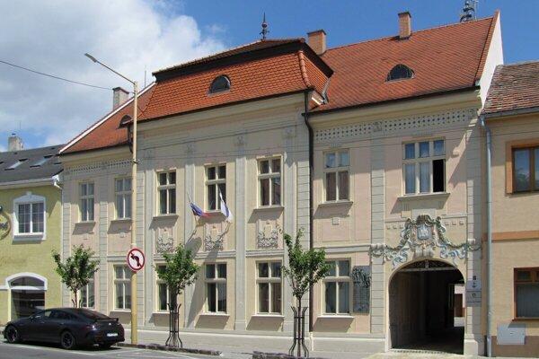 Mestský úrad v Holíči.