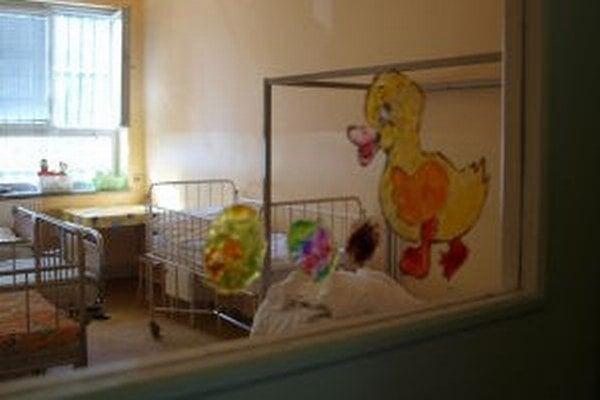 Detské oddelenie podľa nemocnice čaká kompletná rekonštrukcia budúci rok.