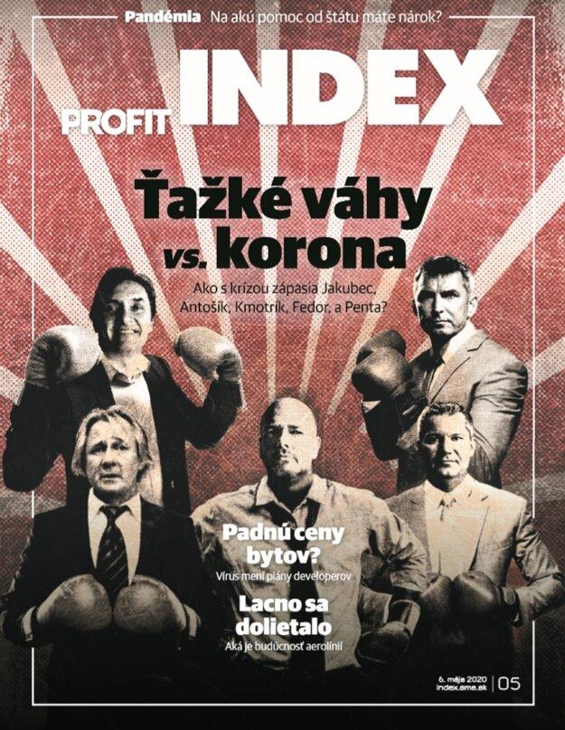 Májové číslo magazínu INDEX.