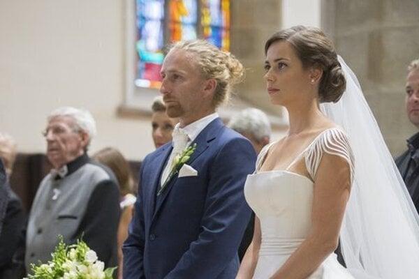 Svadba 2015: Martin Mihalčín a Gabriela Marcinková.