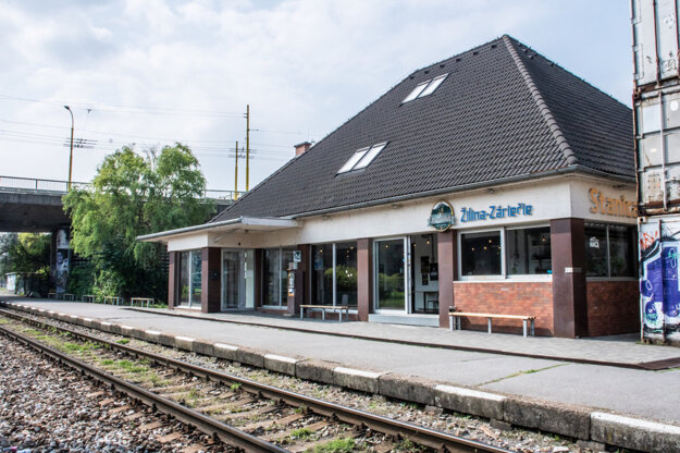 Zrekonštruovaná stanica v Záriečí