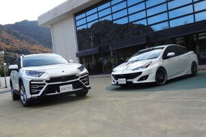 Albermo XR51 Toyota RAV4 a Albermo SP42 Toyota Prius