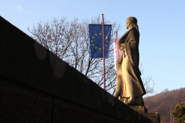 Pamätník v Kľaku.