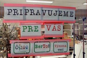 Nové priestory na výmenu použitého tovaru sú v podchode na Ulici Matice slovenskej v Prievidzi.