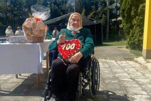 Johana Bonková oslávila 100 rokov.