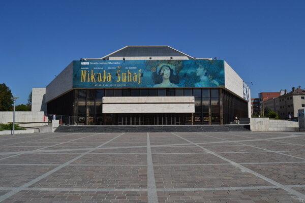 Divadlo Jonáša Záborského v Prešove.