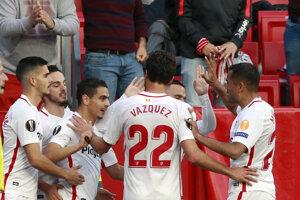 Futbalisti FC Sevilla.