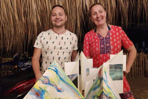 Roman Turcel a Katka Beňadik PRačková v karanténe v Mexiku.