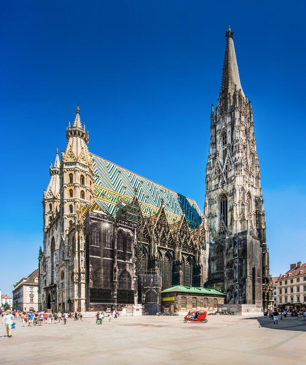 Dóm svätého Štefana vo Viedni pred pandémiou.
