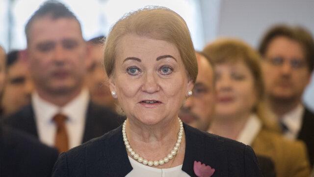 Poslankyňa Anna Záborská.