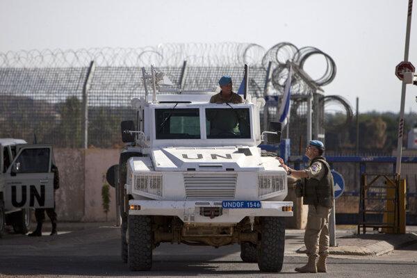 Vojaci mierovej misie OSN.