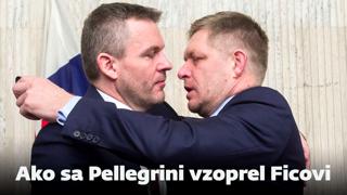 Ako sa Peter Pellegrini vzoprel Robertovi Ficovi (video)