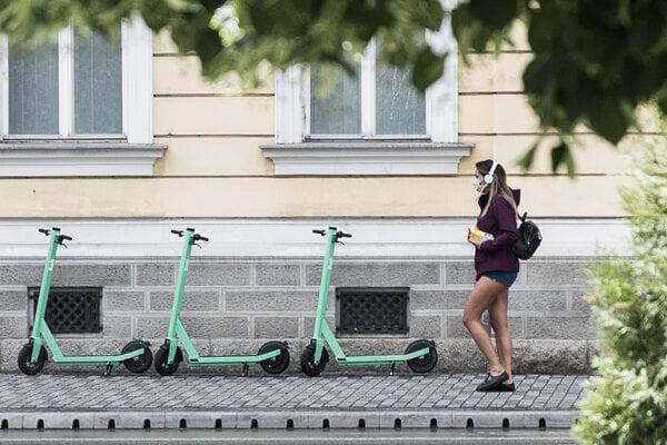 Elektrické kolobežky Bolt v Bratislave