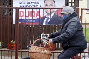 Poľský prezident Andrzej Duda sa usiluje o znovuzvolenie.