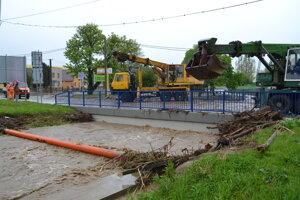 Kežmarok zaliala voda dvakrát, v roku 2010 a o štyri roky neskôr.