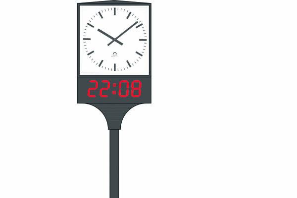 Takto majú vyzerať uličné hodiny.