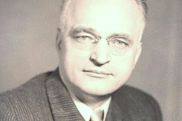 Jozef Lettrich, politik.