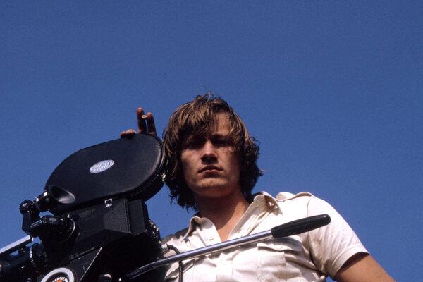 Kameraman Igor Luther v mladosti.