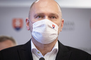 Minister hospodárstva a predseda strany Richard Sulík.