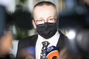 Exriaditeľ Slovenskej informačnej služby (SIS) Vladimír Pčolinský.
