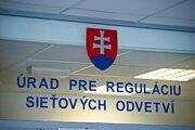 Úrad pre reguláciu sieťových odvetví.