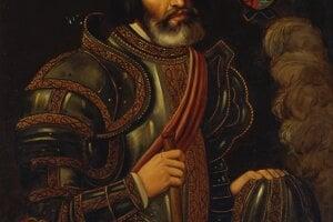 Conquistador Hernán Cortés.