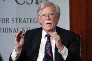 Bývalý poradca amerického prezidenta Donalda Trumpa pre národnú bezpečnosť John Bolton.