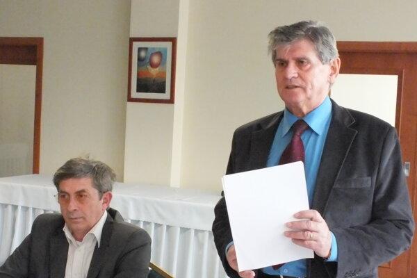 Ervín Boháčik, predseda KZ SŽK v Košiciach.