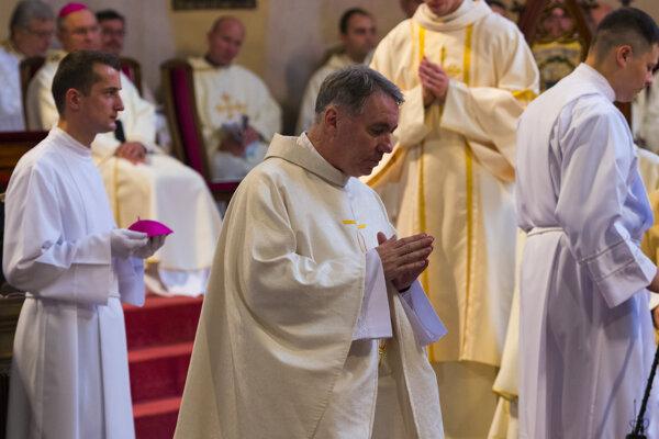 Nový pomocný biskup Spišskej diecézy Ján Kuboš.