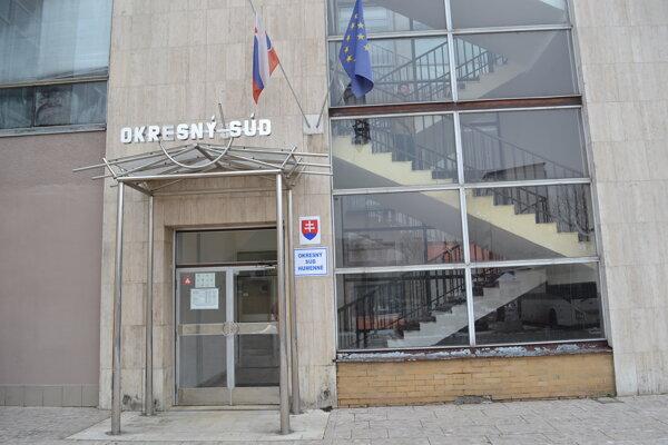 Budova Okresného súdu v Humennom.