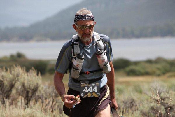 Štefan Karak v Colorade. Preteky skončil šesťdesiat kilometrov pred cieľom.