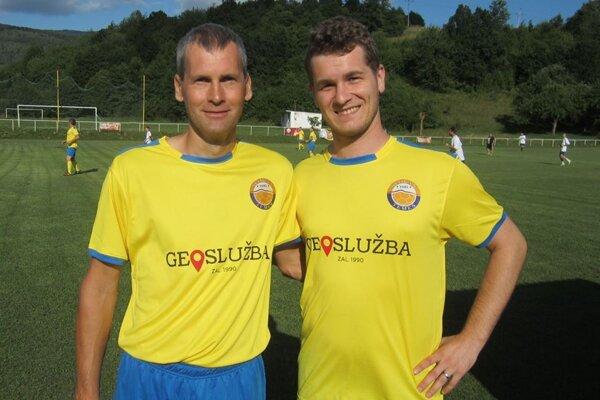 Martin Borecký (vpravo).