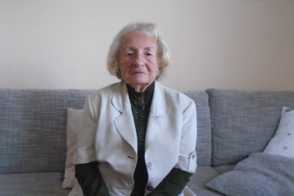 Mária Nahálková oslávila už svoje 95. narodeniny.