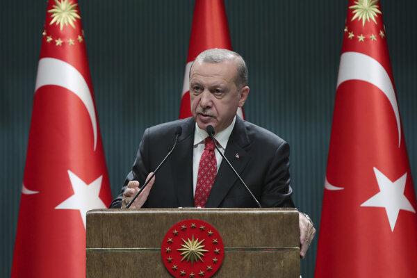 Turecký prezident Recep Tayip Erdogan.
