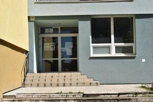 Úrad práce, sociálnych vecí a rodiny v Prešove na Duklianskej.