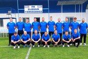 FK Slovan Tomášovce.