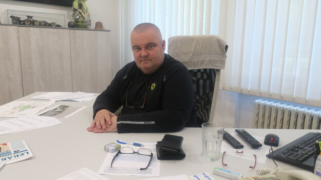 Damiel Žitňan, riaditeľ nemocnice.