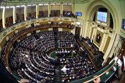 Egyptský parlament.