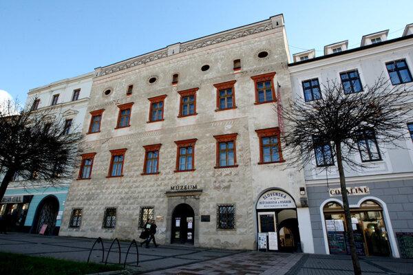 Thurzov dom - jedna z najstarších svetských pamiatok v meste.