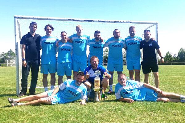 Víťazný Sir Alex team.