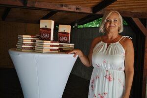 Katarína Kuniková ajej najnovší román Láska dvoch svetov.
