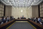 28. schôdza vlády SR 8. júla 2020 v Bratislave.