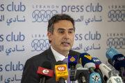 Libanonský minister financií Alain Bifani.