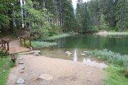 Vrbické jazero v Demänovskej doline.