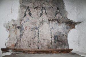Vzácne ranogotické maľby v kostole v Spišskej Belej.