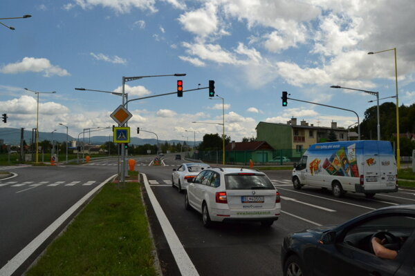Cestná svetelná signalizácia v Prešove je v procese obnovy.